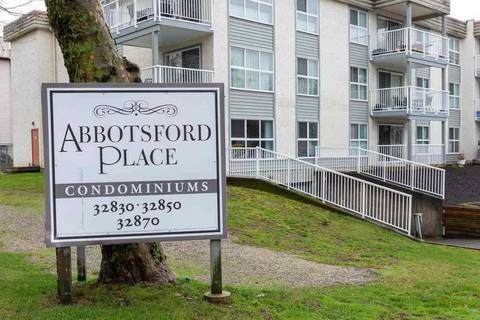 Condo for sale at 32850 George Ferguson Wy Unit 115 Abbotsford British Columbia - MLS: R2440292