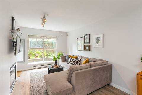 Condo for sale at 332 Lonsdale Ave Unit 115 North Vancouver British Columbia - MLS: R2378919