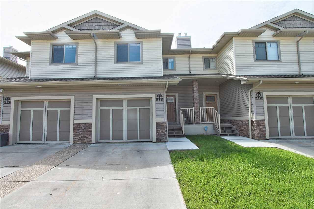 Townhouse for sale at 5420 Grant Macewan Blvd Unit 115 Leduc Alberta - MLS: E4163898