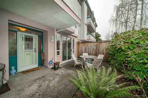 Condo for sale at 7500 Abercrombie Dr Unit 115 Richmond British Columbia - MLS: R2402062