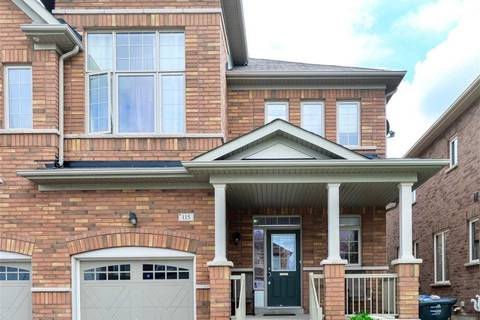 Townhouse for sale at 115 Aylesbury Dr Brampton Ontario - MLS: W4546190