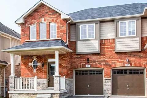 Townhouse for sale at 115 Bousfield Ri Hamilton Ontario - MLS: X4511599