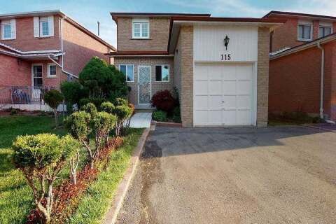 House for sale at 115 Cabernet Circ Toronto Ontario - MLS: W4813790