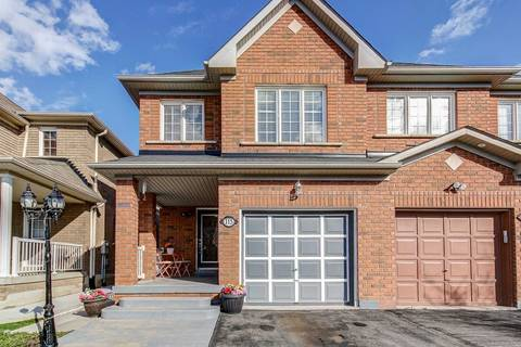 Townhouse for sale at 115 Cadillac Cres Brampton Ontario - MLS: W4452049