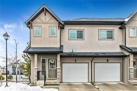 Townhouse for sale at 115 Cimarron Vista Garden(s) Okotoks Alberta - MLS: C4275814