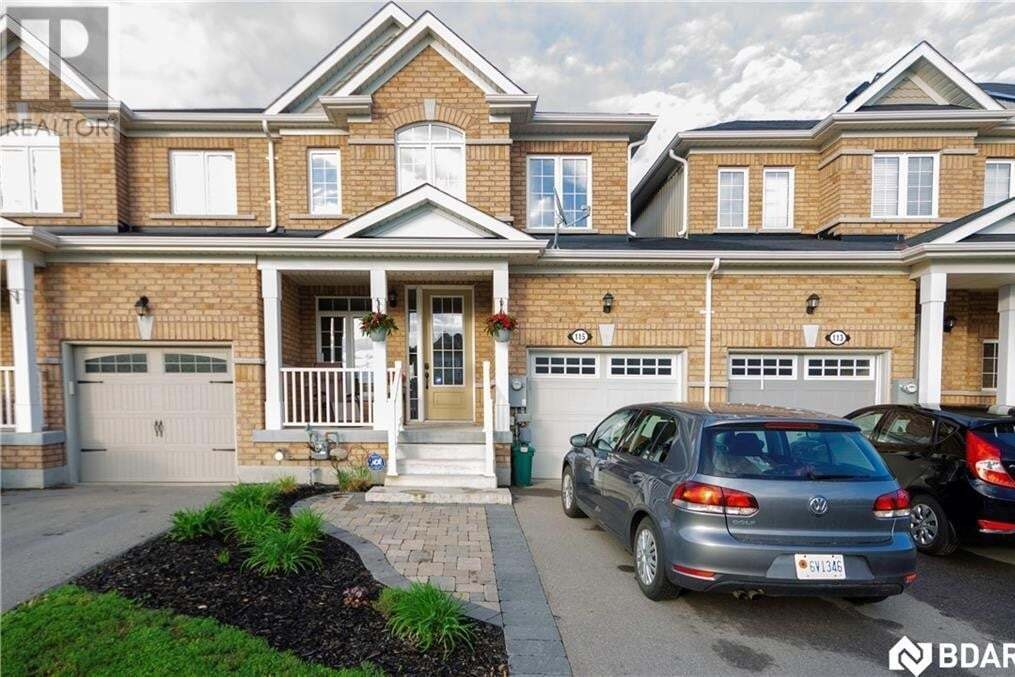 Townhouse for sale at 115 Collier Cres Essa Ontario - MLS: 30809659