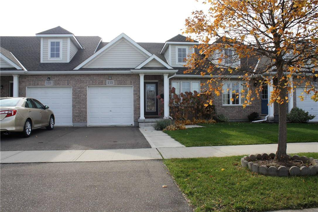 Townhouse for sale at 115 Falcon Dr Welland Ontario - MLS: H4067195