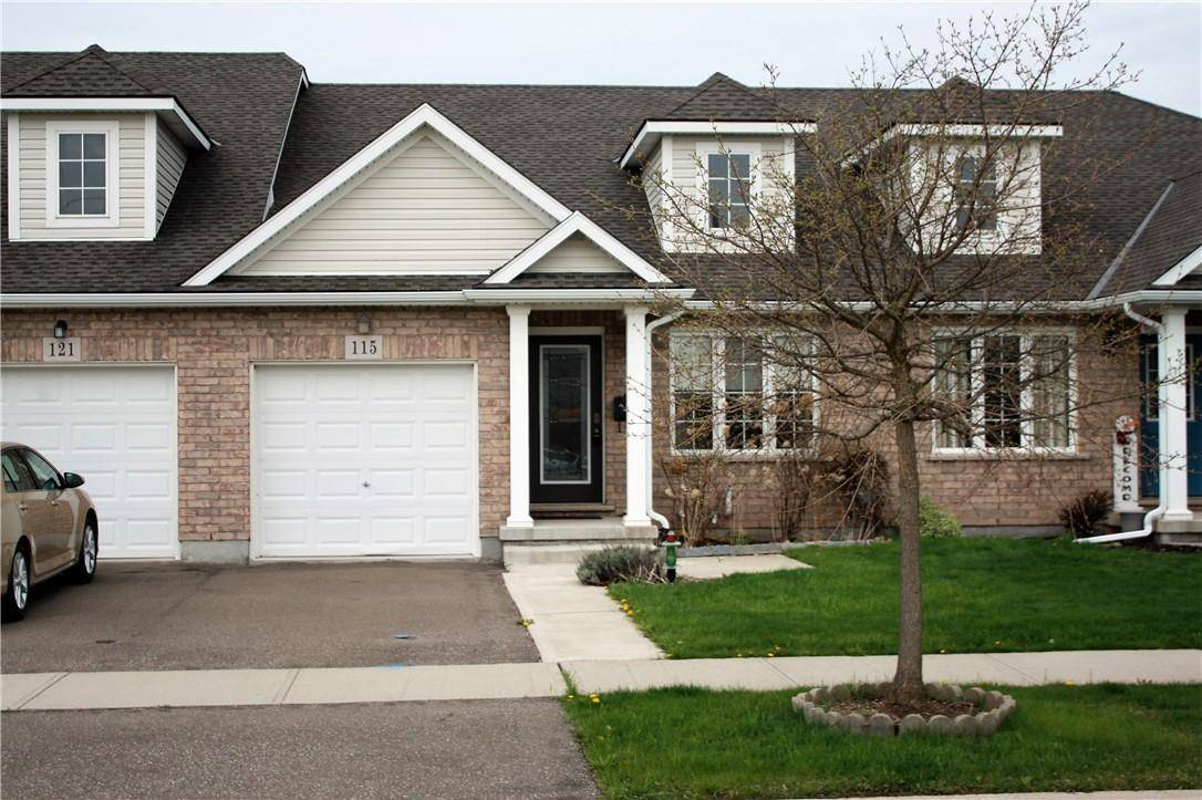 Townhouse for sale at 115 Falcon Dr Welland Ontario - MLS: H4077285