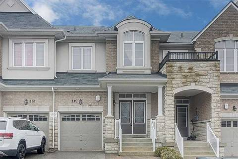Townhouse for sale at 115 Firwood Dr Richmond Hill Ontario - MLS: N4734732
