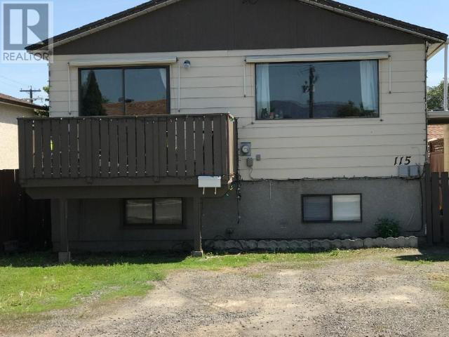 For Sale: 115 Holway Street, Kamloops, BC   4 Bed, 2 Bath House for $309,900. See 27 photos!