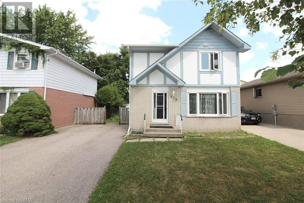 House for sale at 115 Olympic Cres London Ontario - MLS: 213345
