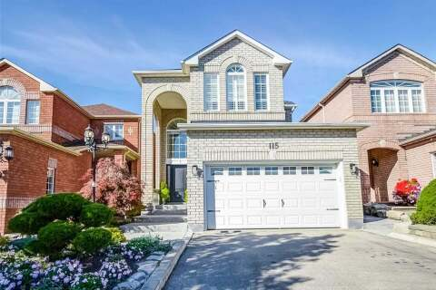 House for sale at 115 Sylwood Cres Vaughan Ontario - MLS: N4923133