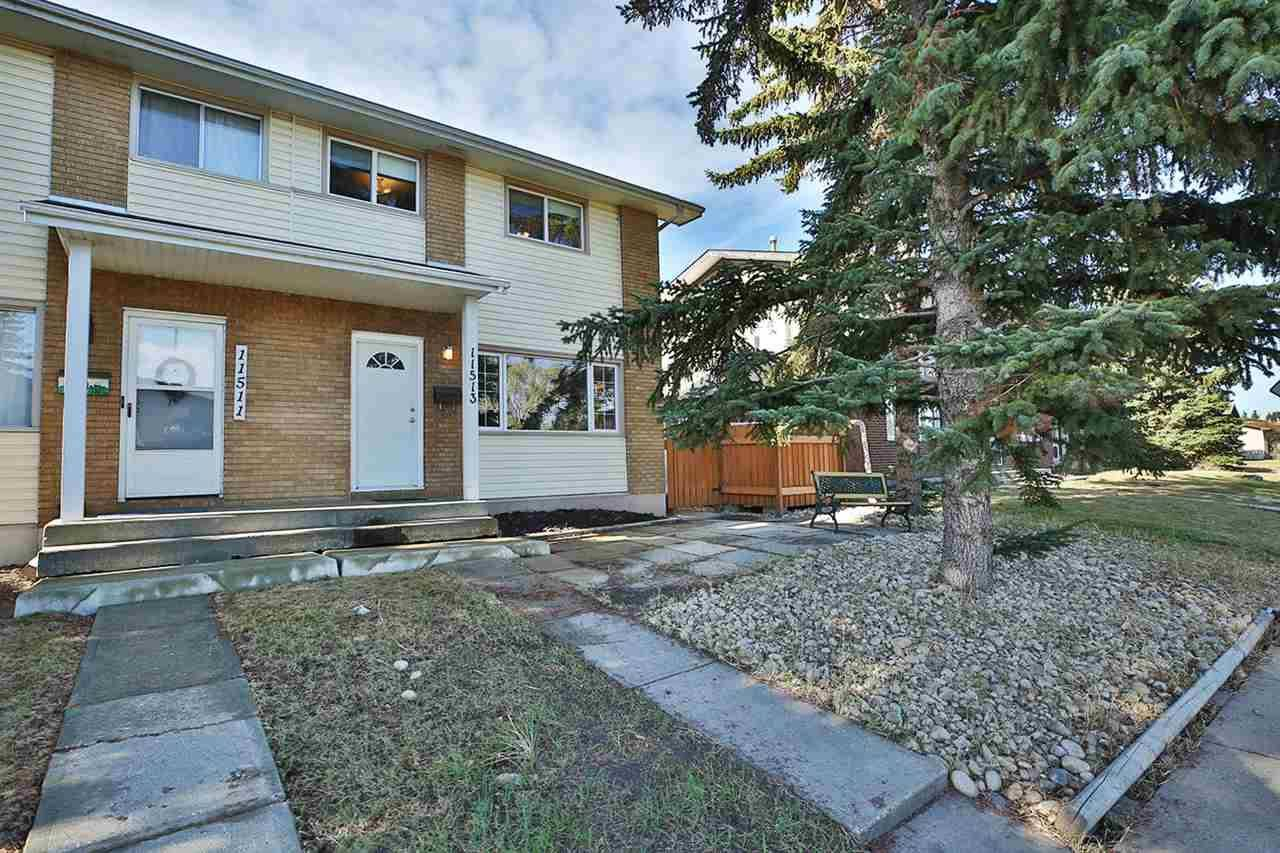 Townhouse for sale at 11513 40 Ave Nw Edmonton Alberta - MLS: E4187368