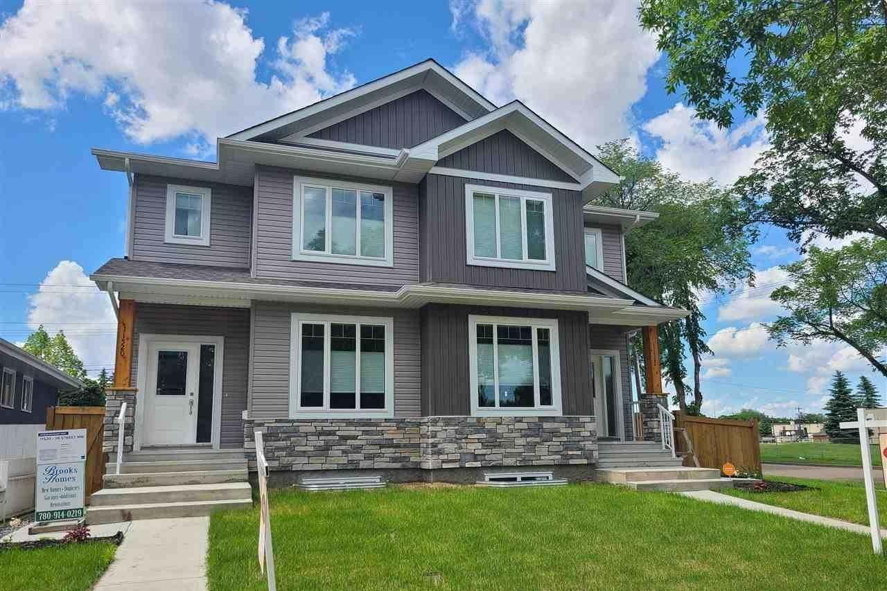 Townhouse for sale at 11522 38 St NW Edmonton Alberta - MLS: E4186379