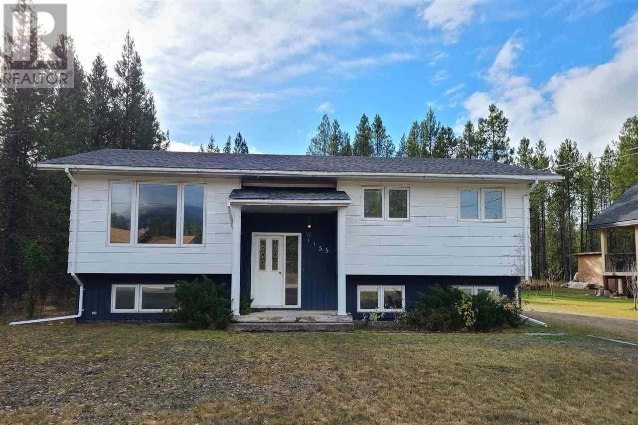 House for sale at 1155 14th Ave Valemount British Columbia - MLS: R2509622