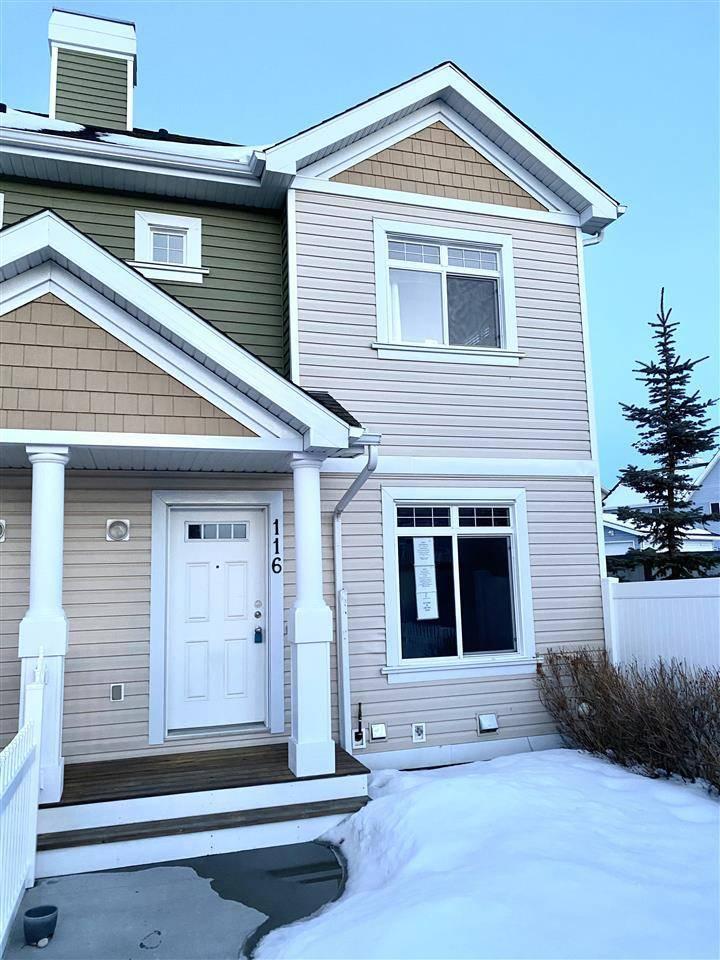 Townhouse for sale at 1804 70 St Sw Unit 116 Edmonton Alberta - MLS: E4192421