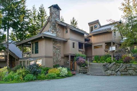 Townhouse for sale at 6117 Eagle Dr Unit 116 Whistler British Columbia - MLS: R2409126