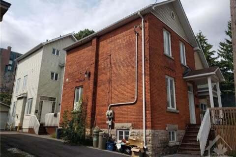 Townhouse for sale at 116 Cambridge St Ottawa Ontario - MLS: 1210213