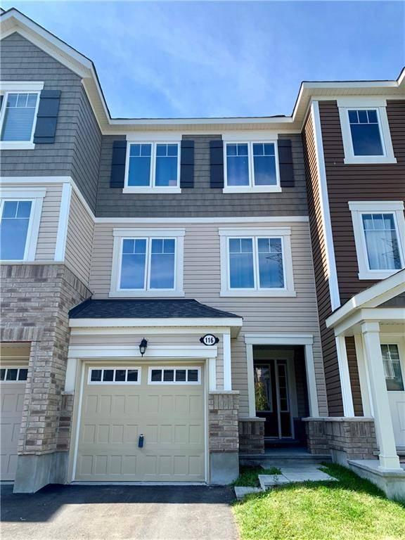 Townhouse for sale at 116 Gelderland Pt Ottawa Ontario - MLS: 1169319