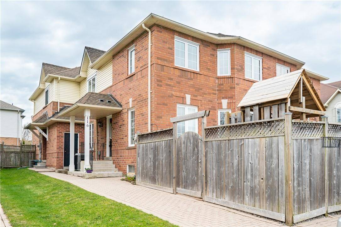 Townhouse for sale at 116 Laurendale Ave Waterdown Ontario - MLS: H4077140