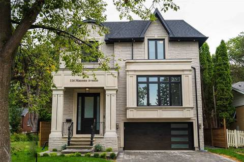 House for sale at 116 Maxome Ave Toronto Ontario - MLS: C4537794