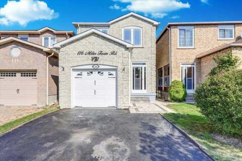 House for sale at 116 Miles Farm Rd Markham Ontario - MLS: N4930594