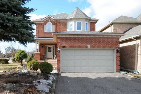 House for sale at 116 Rushbrook Dr Newmarket Ontario - MLS: N4723326