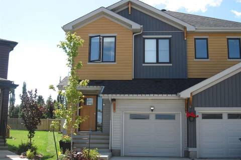 Townhouse for sale at 116 Tribute Common Spruce Grove Alberta - MLS: E4165652