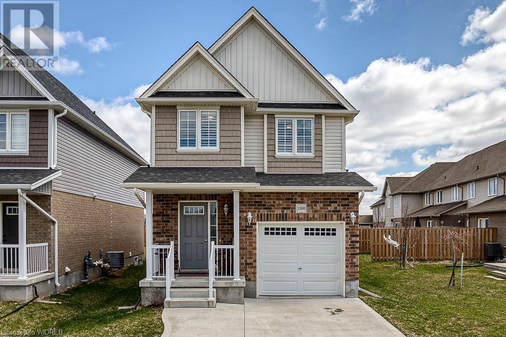 House for sale at 1160 Caen Ave Woodstock Ontario - MLS: 255792