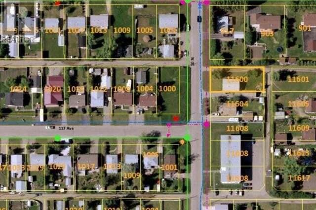 Home for sale at 11600 10 St Dawson Creek British Columbia - MLS: 184501