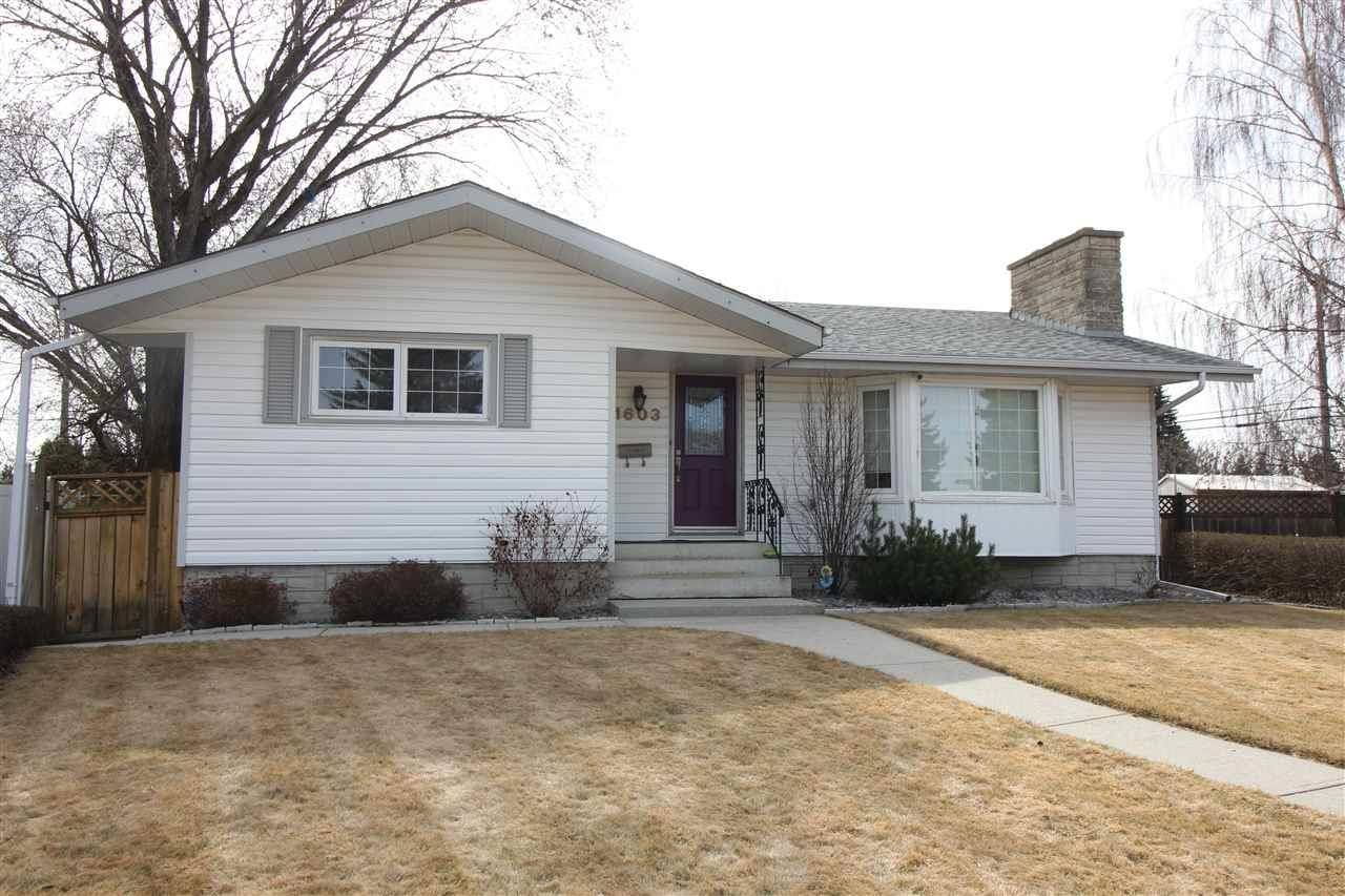 House for sale at 11603 46 Ave Nw Edmonton Alberta - MLS: E4188012