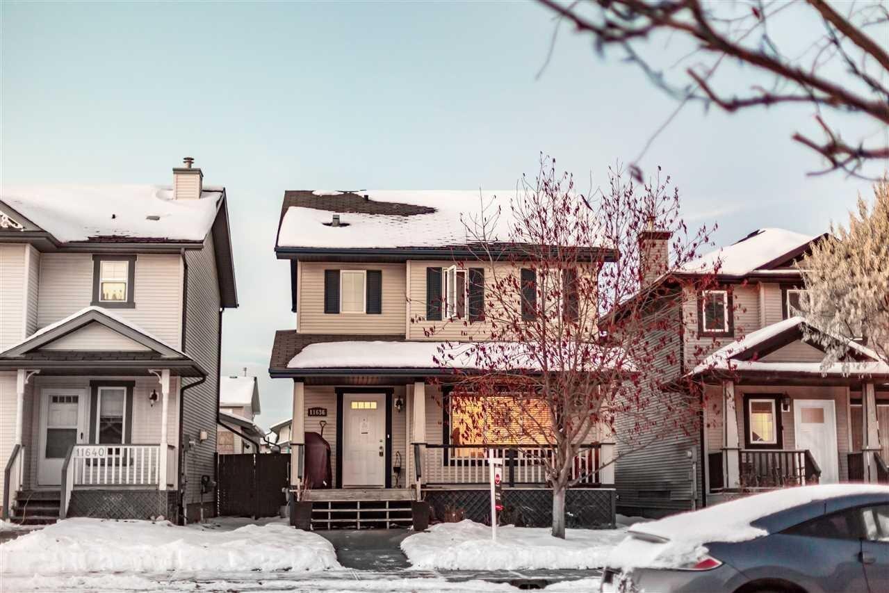 House for sale at 167 A Av NW Unit 11636 Edmonton Alberta - MLS: E4220961