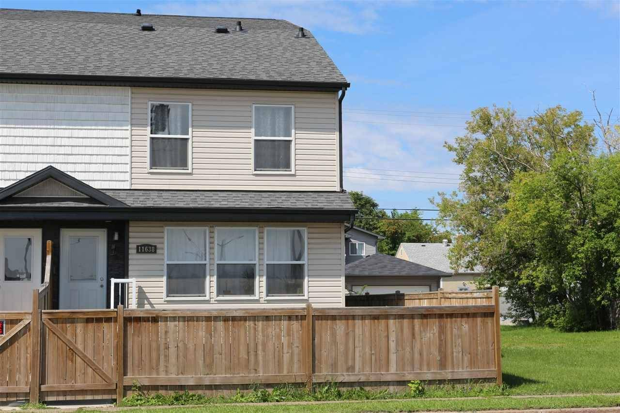 Townhouse for sale at 11638 80 St Nw Edmonton Alberta - MLS: E4169889