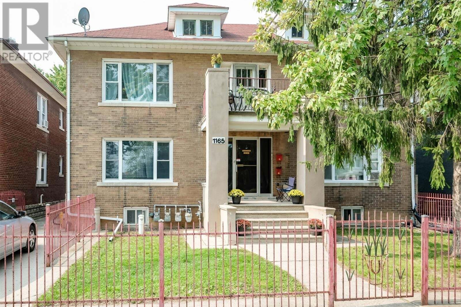 Townhouse for sale at 1165 Howard  Windsor Ontario - MLS: 20012172