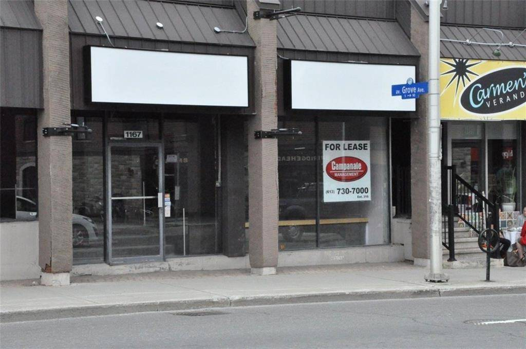 Commercial property for lease at 1167 Bank St Ottawa Ontario - MLS: 1171985