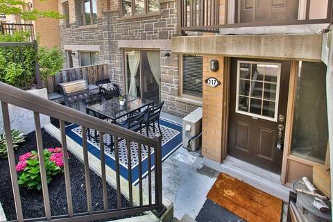 Condo for sale at 14 Foundry Ave Unit 117 Toronto Ontario - MLS: W4545677