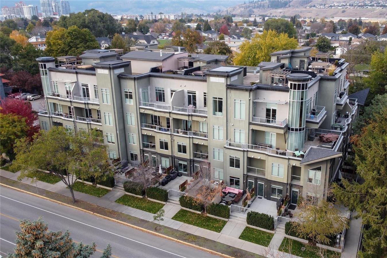 Townhouse for sale at 1495 Graham St Unit 117 Kelowna British Columbia - MLS: 10220237