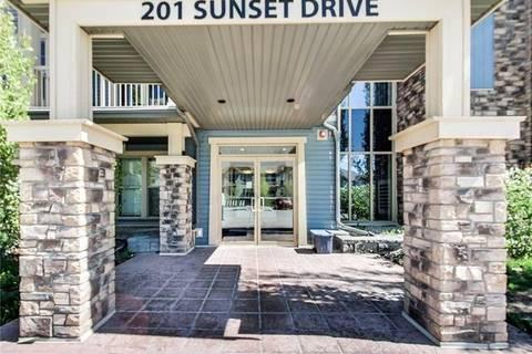 Condo for sale at 201 Sunset Dr Unit 117 Cochrane Alberta - MLS: C4229742