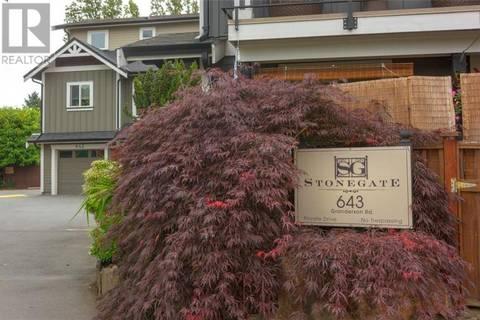 Townhouse for sale at 643 Granderson Rd Unit 117 Victoria British Columbia - MLS: 413084