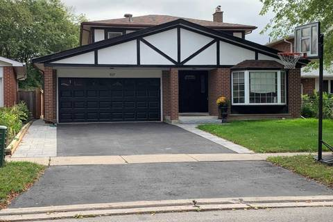House for sale at 117 Collingsbrook Blvd Toronto Ontario - MLS: E4580351