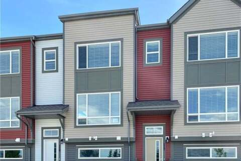 Townhouse for sale at 117 Copperstone Pk Southeast Calgary Alberta - MLS: C4301669