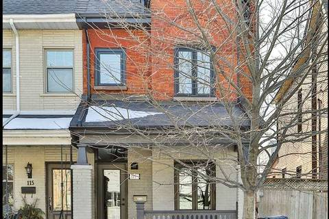 Townhouse for sale at 117 Maria St Toronto Ontario - MLS: W4700183