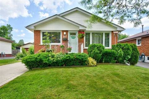 House for sale at 117 Meadowlark Dr Hamilton Ontario - MLS: X4500292