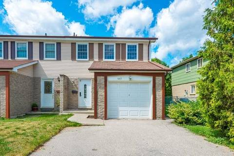 Townhouse for sale at 117 Sexton Cres Toronto Ontario - MLS: C4554198