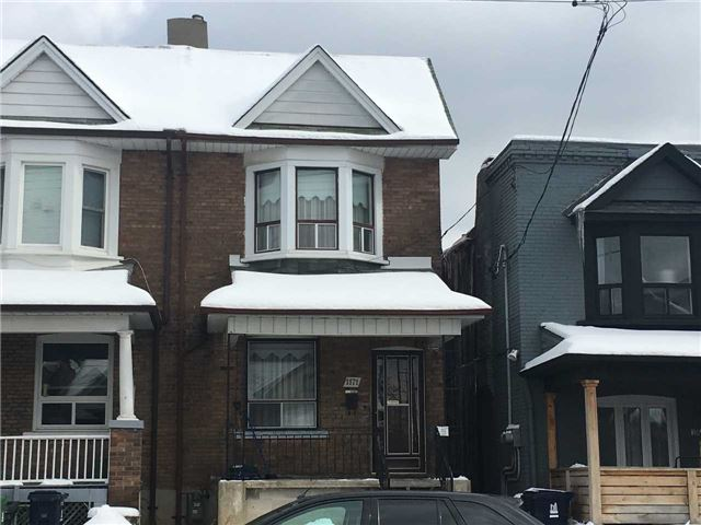 For Sale: 1171 Ossington Avenue, Toronto, ON | 3 Bed, 2 Bath Townhouse for $850,000. See 13 photos!