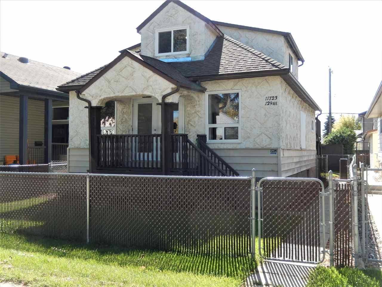 House for sale at 11723 129 Ave Nw Edmonton Alberta - MLS: E4172823