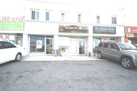 Commercial property for lease at 1175 Victoria Park Ave Toronto Ontario - MLS: E4645766