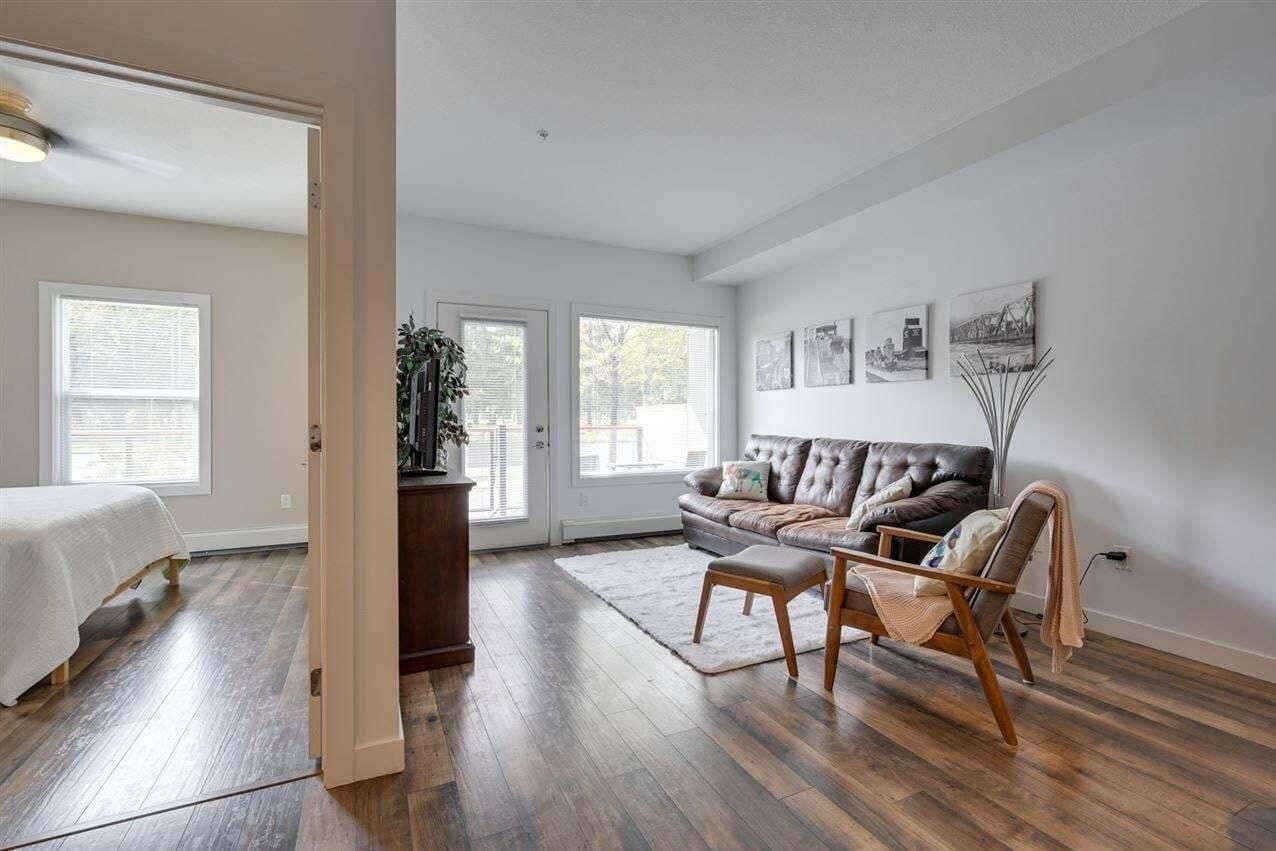 Condo for sale at 10611 117 St NW Unit 118 Edmonton Alberta - MLS: E4214456