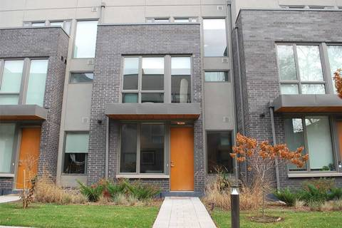 Townhouse for rent at 50 Curzon St Unit 118 Toronto Ontario - MLS: E4631019