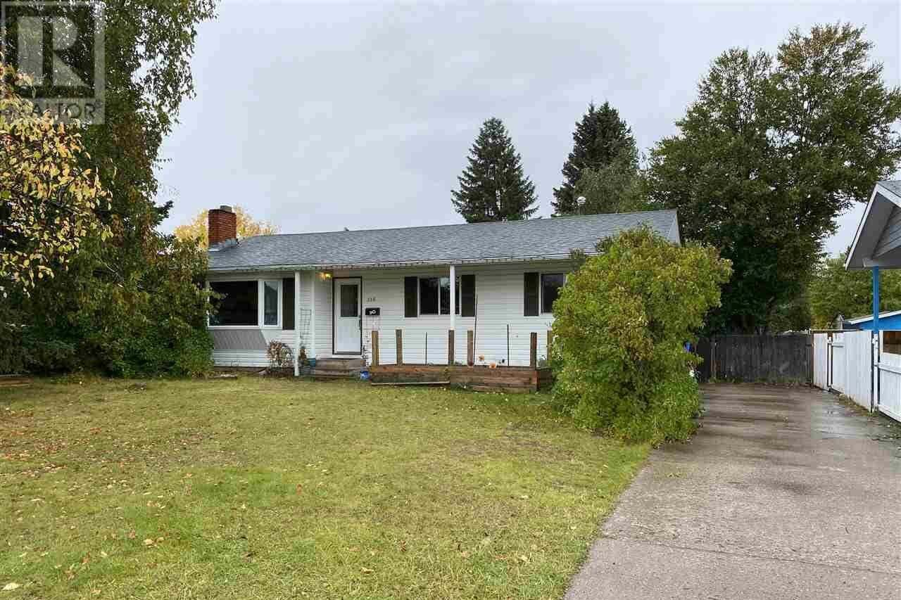 House for sale at 118 Brigade Dr Prince George British Columbia - MLS: R2502340